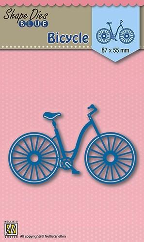 """Shape Dies Blue """"bicycle"""""""