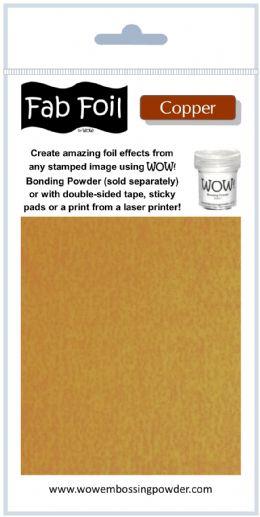 WOW Fab Foil - Copper
