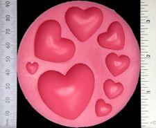 WOW Silikonform - Hjärtan