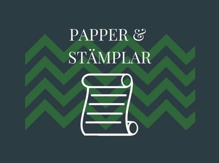 Papper & Stämplar