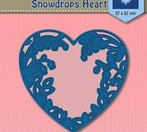 "Shape Dies Blue ""snowdrops heart"""