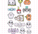 C.C. Designs OK! Halloween Things Clear Stamps