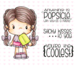 C.C. Designs Little Pixie Popsicle Clear Stamp