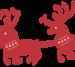 B326 Santa's Sleigh and Reindeer