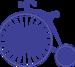B356 Vintage Bicycle (Steampunk Series)