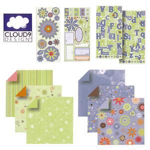 4162 Fiskars Cloud9 Kit - Villa Sorbet