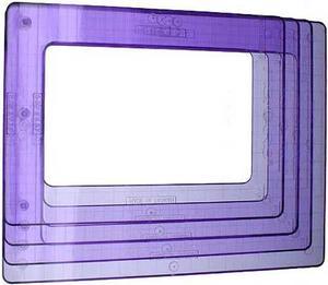 4913 Super-Sized Rektanglar ShapeTemplate