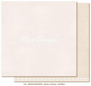 Monochromes - Shades of Denim - Off white