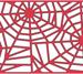 B322 Spider Web Mesh Border