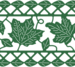 B325 Fall Leaf Mesh Border