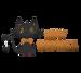 Whimsical Halloween Cat 4 Piece Die Set