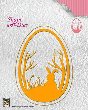 "Shape Dies ""Easter egg"" 78x108mm"