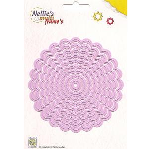 Nellies Multi Frame Die - Wavy Round