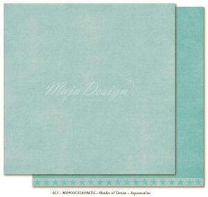 Monochromes - Shades of Denim - Aquamarine