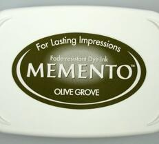 """Memento Ink Pads """"Olive grove"""""""