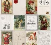 """Letters To Santa Perforated Cardstock 12""""X12"""""""